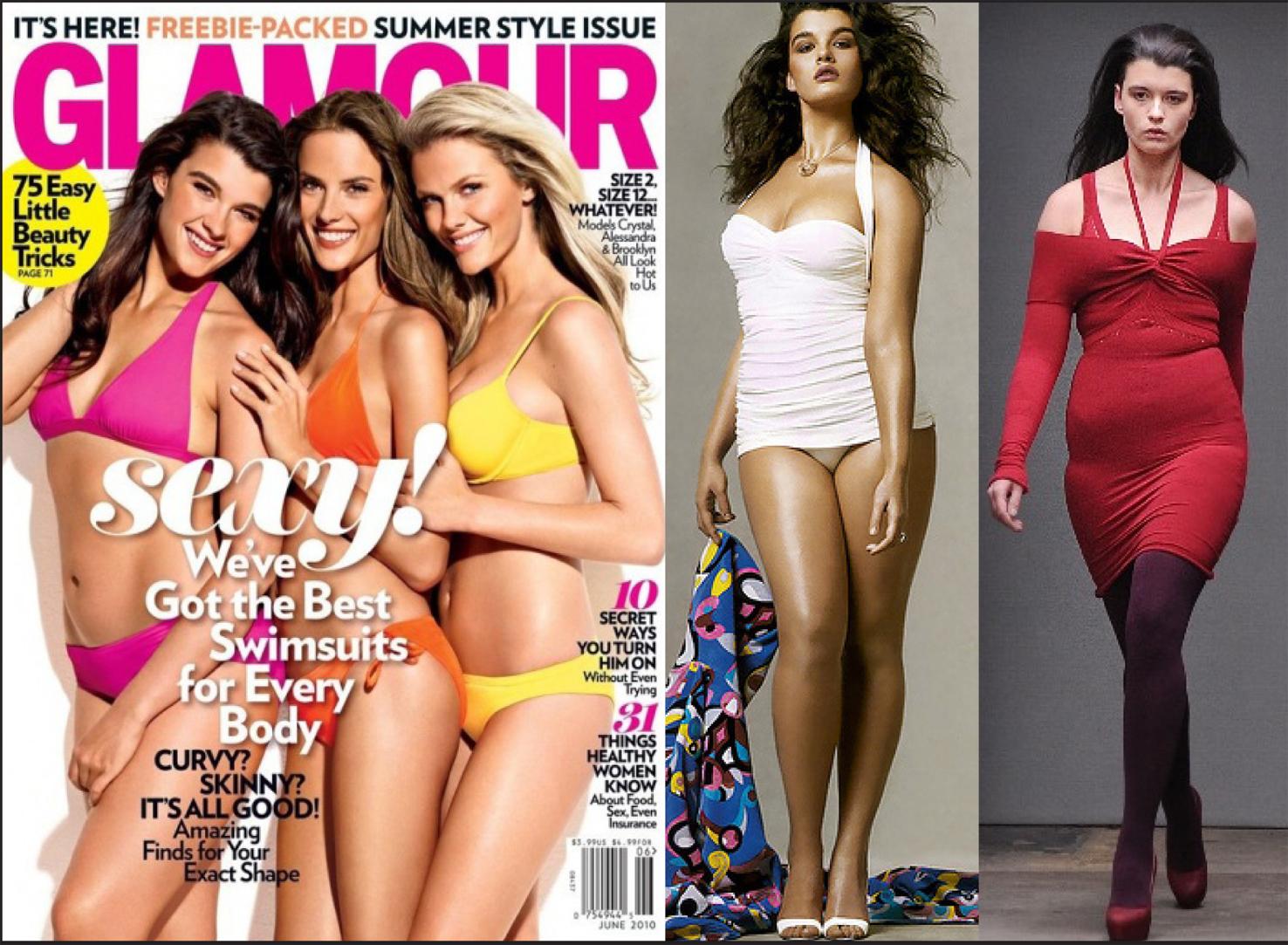 34453eb5d As modelos de manequins 44 e 46 são alvo constante de críticas das que  vestem tamanhos maiores.